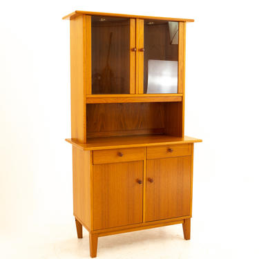 Ansager Mobler Mid Century Petite Teak Buffet and Hutch - mcm by ModernHill