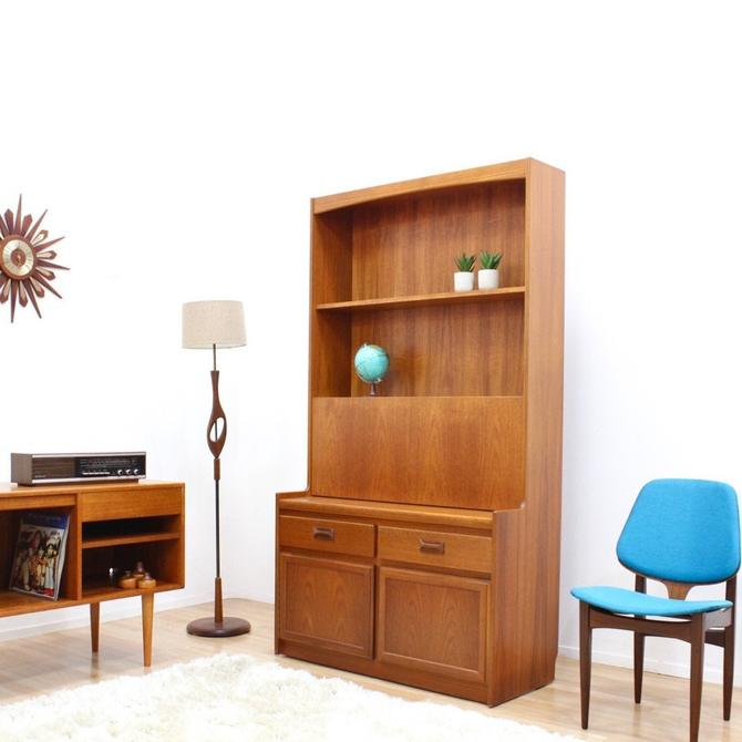 Mid Century Display Cabinet Bookcase by William Lawrence by SputnikFurnitureLLC