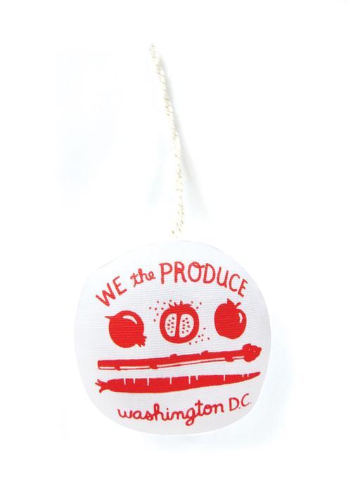 DC PRODUCE FLAG Holiday Ornament