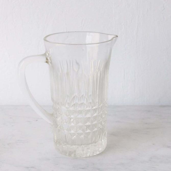 Glass Bar Pitcher