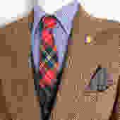 Vintage HARRIS TWEED Hebridean Crofter Wool Blazer ~ size 38 to 40 Long ~ Herringbone ~ jacket / sport coat ~ Preppy / Ivy / Trad by SparrowsAndWolves
