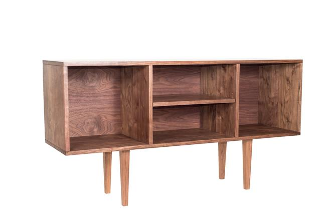 Solana Vinyl Console - Custom listing by ADCOWoodWorks