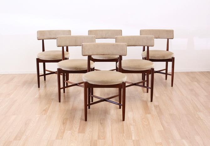 Set of Six Dining Chairs by VB Wilkins for G Plan by SputnikFurnitureLLC