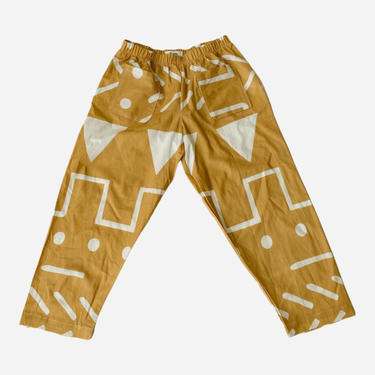 TUMERIC ABSTRACT KENZIE TROUSERS