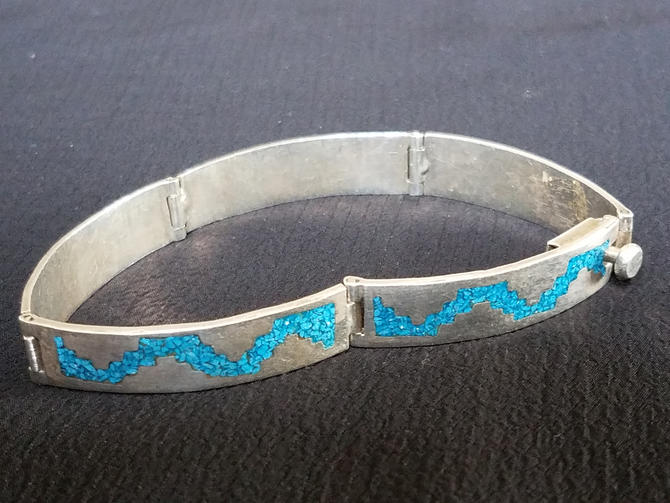 Vintage southwestern bracelet sterling Silver Vintage Valentine by LazyCamel