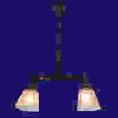Two Light Pendant Chandelier