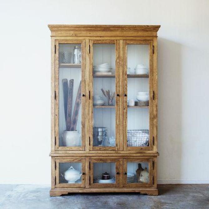 Reclaimed Wood China Closet