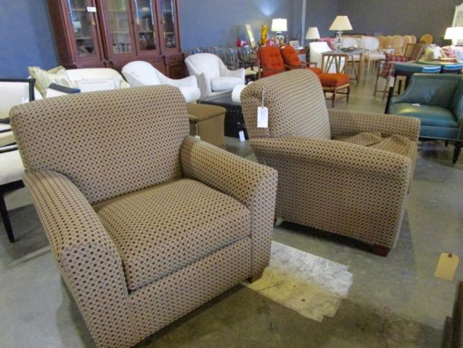 PAIR OF PARK PLACE CLUB CHAIRS PRICED SEPARATELY
