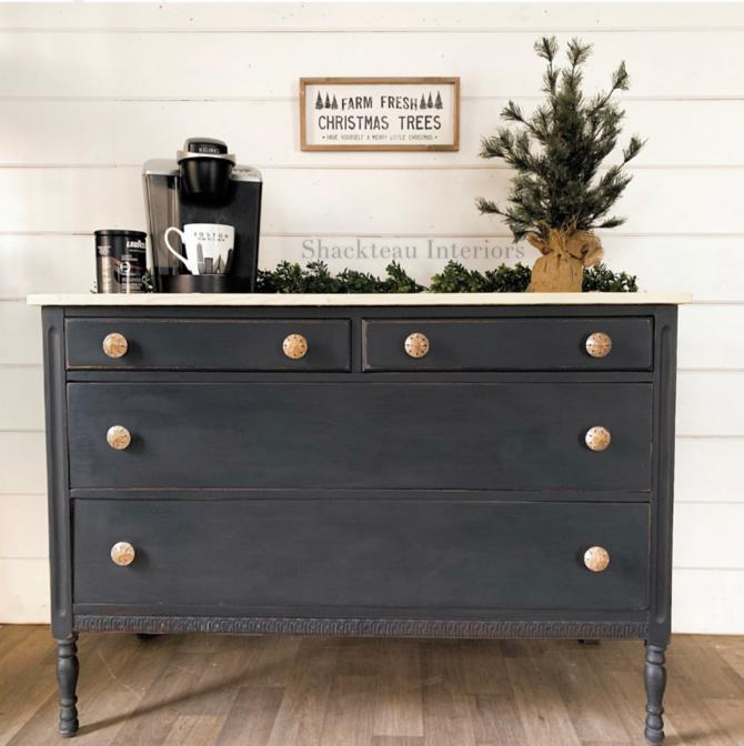 Vintage Farmhouse Dresser