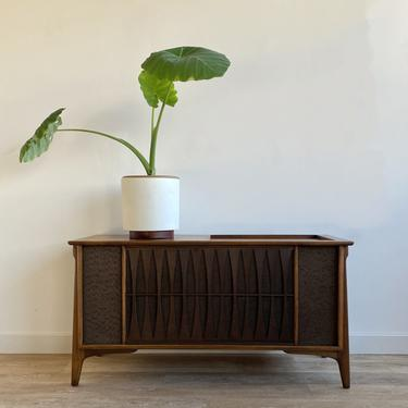 Mid-Century Record Player Console (fully functional)