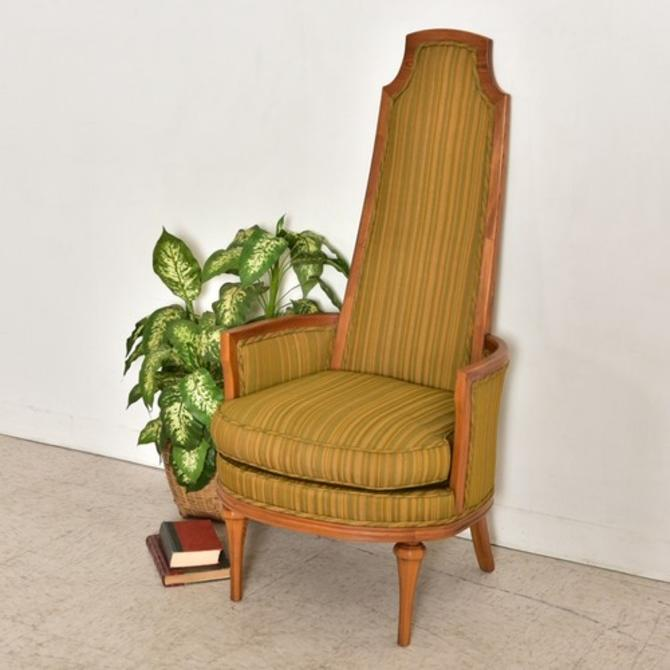 1970's Original Vintage Throne Chair