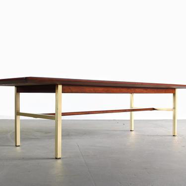 "Drexel ""Sun Coast"" Brass Coffee Table by Kipp Stewart & Stewart McDougall by ABTModern"