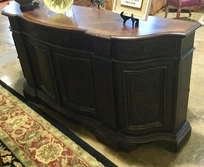 Solid wood credenza available at Habitat for Humanity Restore Rockville for $795.00