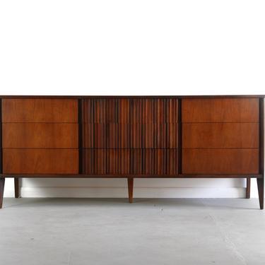 Strata Unagusta Exceptional Contoured Dresser / Credenza by ABTModern