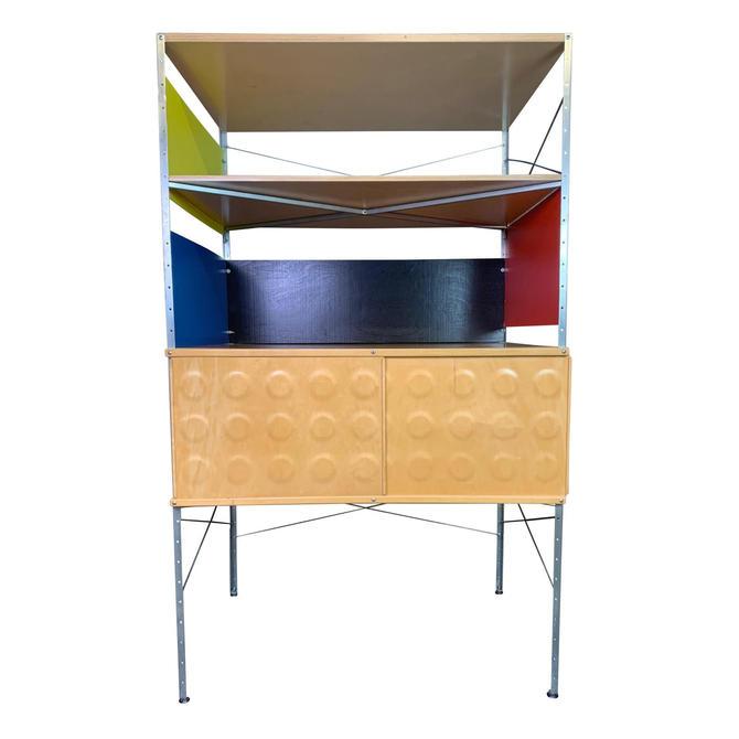 Vintage Mid Century Modern Eames Style Esu Storage Unit by Modernica by AymerickModern