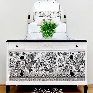 Vintage Boho Dresser by LaVidaBellaDesign