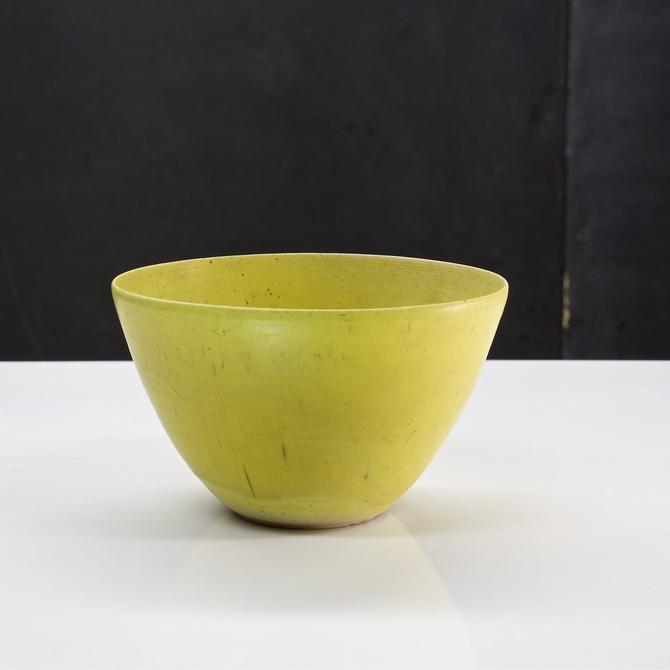 Heath Studio Pottery Bowl Lemon Yellow Vase Ceramics Vintage Mid-Century  Modern Edith Hand Thrown 50s by BrainWashington