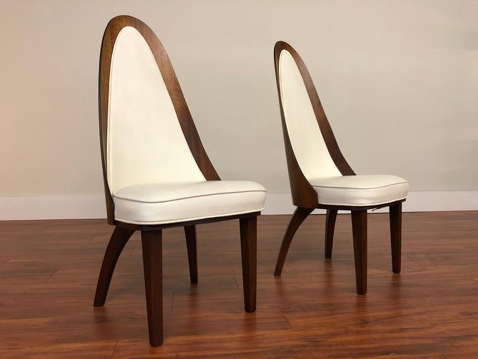 Chet Beardsley Atomic Dining Chairs Pair by Vintagefurnitureetc