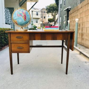 On Hold-MID CENTURY MODERN Extending Desk by Bassett Furniture (Los Angeles) by HouseCandyLA