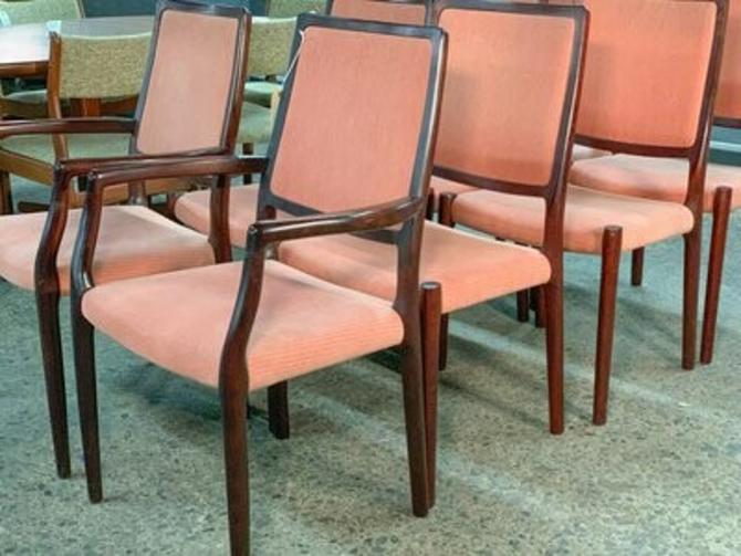 Niels Moller Rosewood Dining Chairs