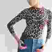 Stella McCartney Double Print 36 Sweater
