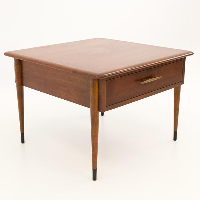 Lane Alta Vista Square Mid Century Side End Table - mcm by ModernHill