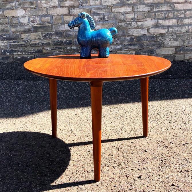Teak Tripod Coffee-accent Table