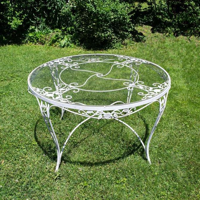 Outdoor Patio Dining Table By Russell Woodard