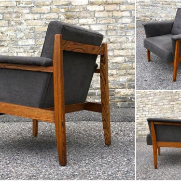 Rescued + Remade Club Chair
