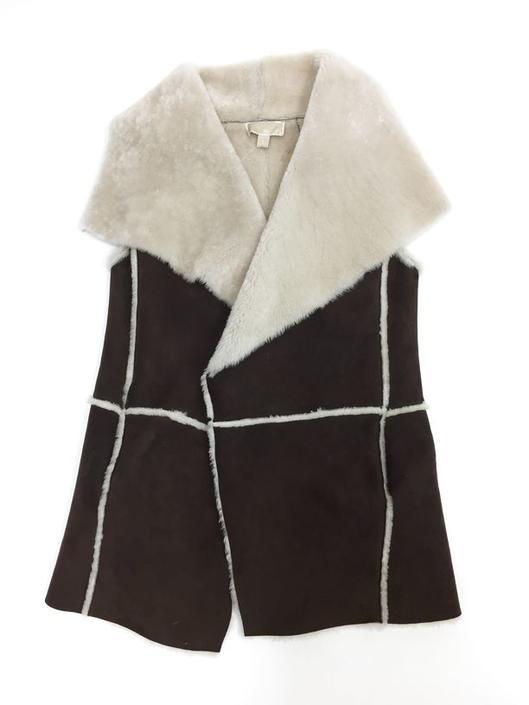 Michael Michael Kors Size M Brown Vest