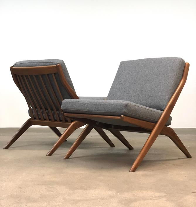Folke Ohlsson | DUX Scissor Chairs | Mid Century by midcenTree