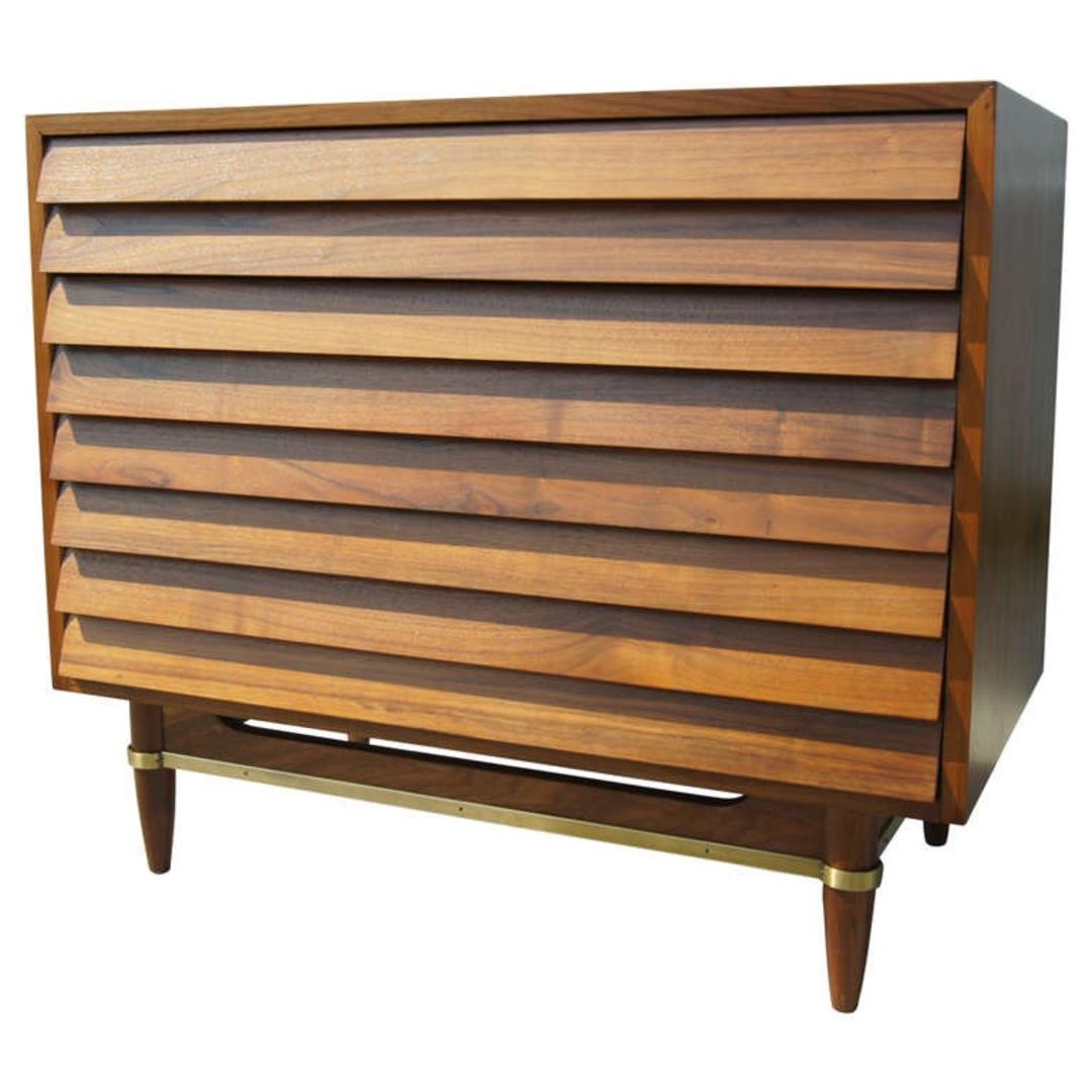 American Of Martinsville Dania Dresser By Merton Gershon