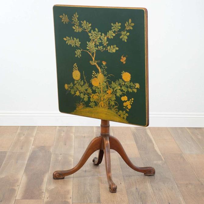 Floral Flip Top Table