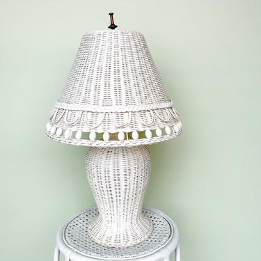 Wicker Chic Lamp