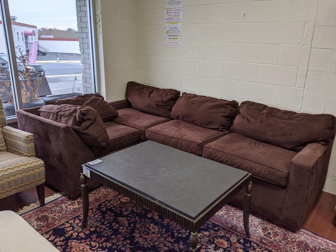 Brown Sectional Sofa