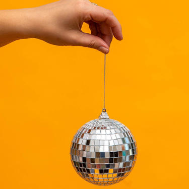 """4"""" SMALL Disco Ball Mirror Ball - THE CHIC by LivingColorfullyShop"""
