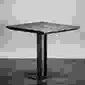 I-Beam Pedestal Base, 2-Top/Two-Top Restaurant Base - Industrial Table base by TimberForgeWoodworks