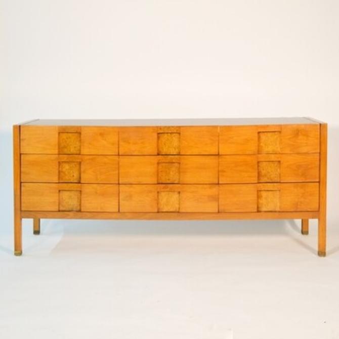 Walnut and Burlwood Lane Dresser