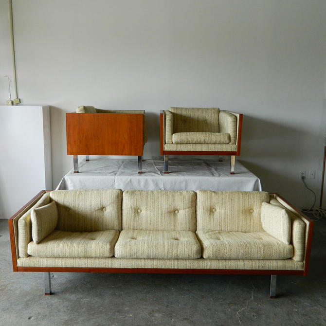 Three-piece Jydsk Mobelvaerk Sofa and Lounge Chair Set