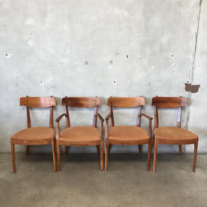Set of Four 1950's Drexel Declaration Chairs