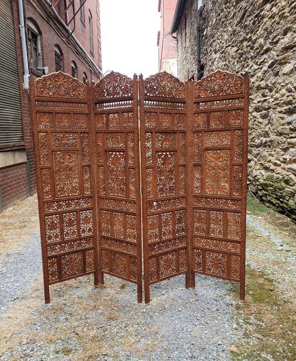 Vintage Boho Moroccan or Indian Inspired Screen