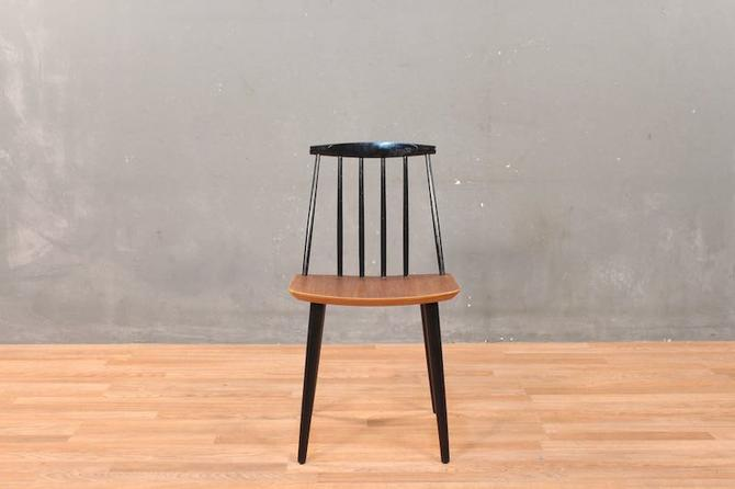 Danish Modern Folke Palsson Two-Tone Side Chair – ONLINE ONLY