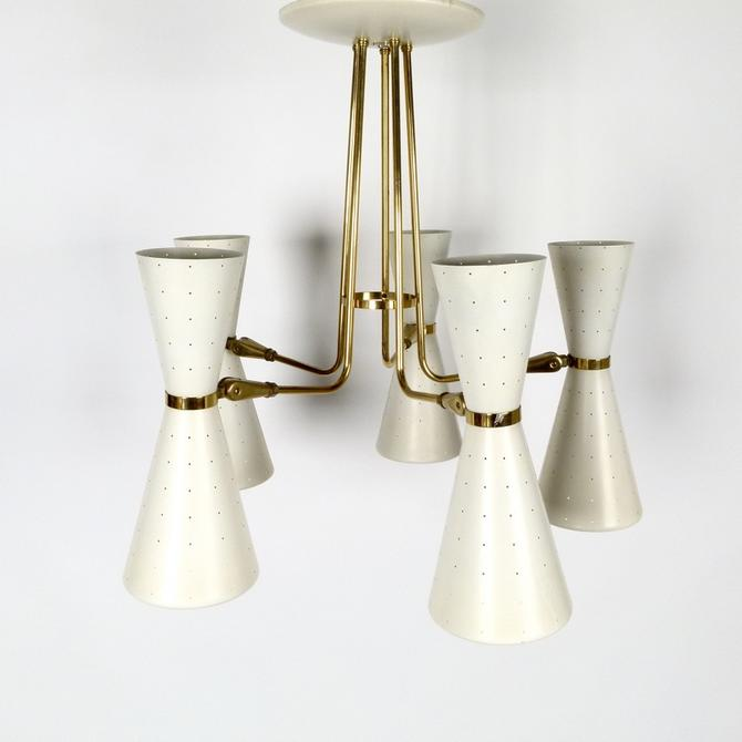 Gerald Thurston Adjustable 10 Light Chandelier