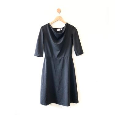 Lizbeth Dress in Black Textural