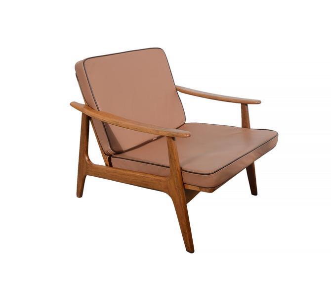 Danish Modern Lounge Chair Mid century Modern by HearthsideHome