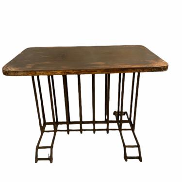French Iron Bisto Table (pair available)