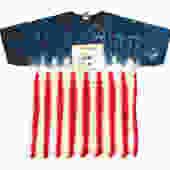 sPACYcLOUd Tie Dye Emoji Flag T-Shirt
