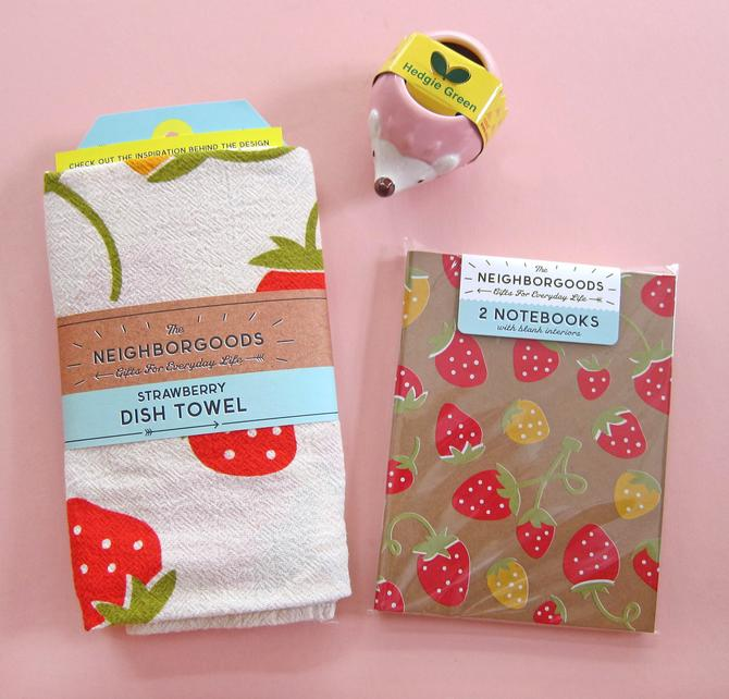 Strawberry Lovers SMALL Gift Set