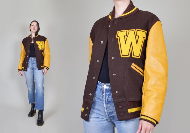1960's Letterman Jacket | Vintage Letterman Jacket by WisdomVintage