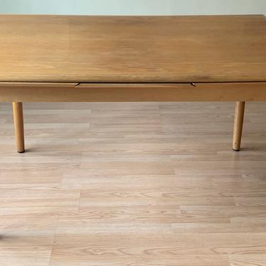 Danish Mid-sized Teak Dining Table With 2 Leaves by ASISisNOTgoodENOUGH
